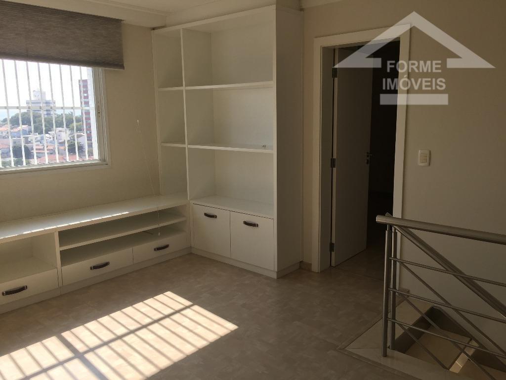 excelente cobertura, com 4 suítes com piso laminado e armário embutidos, closet, todas com ar condicionado,...