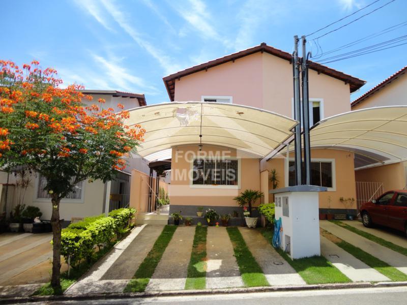 Casa residencial à venda em condomínio fechado, Bairro Jd. Martins - Jundiaí.