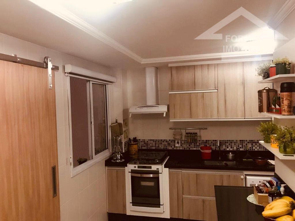 lindo, decorado, sala estar ampla com varanda, sala de jantar, lavabo, 3 dormitórios sendo 1 suite...