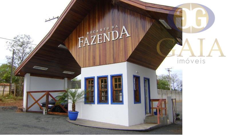Terreno residencial à venda, Recanto da Fazenda, Nova Odessa - TE0424.