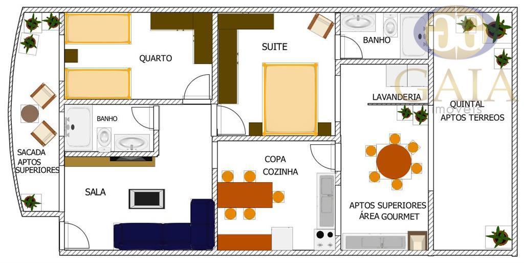 Apartamento em Americana