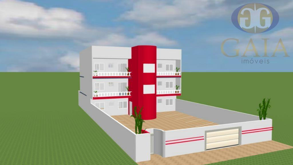 apartamento novo !!! 94m² distribuídos em 2 dormitórios sendo 1 suíte, quintal para térreos e sacada...