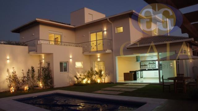 Casa residencial à venda, Residencial Real Parque Sumaré, Sumaré - CA1571.