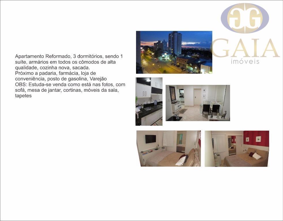 Apartamento residencial à venda, Jardim Paineiras, Campinas.