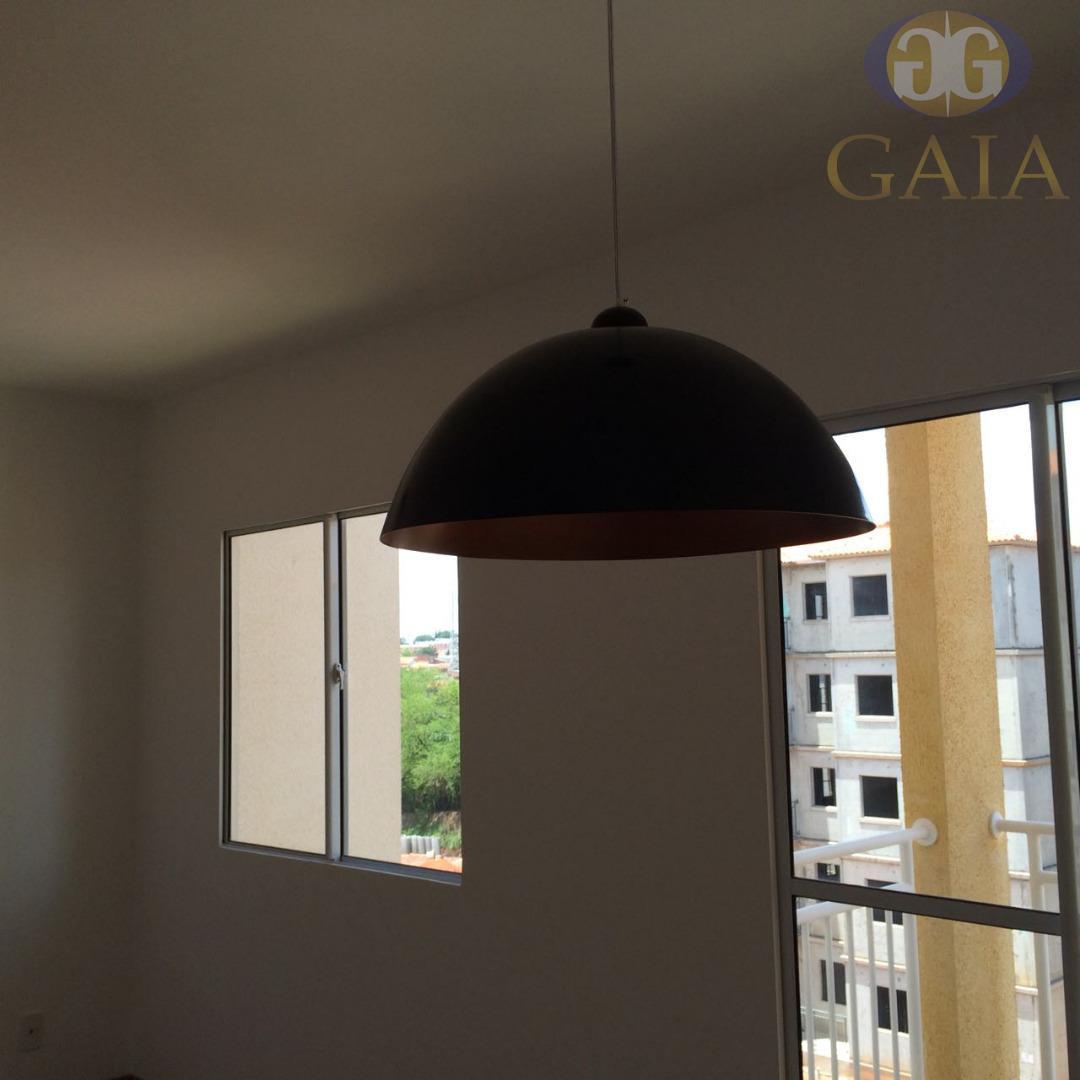Apartamento residencial à venda, Vila Carlota, Sumaré.