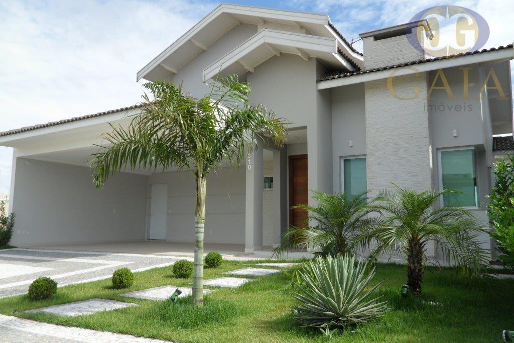 Casa residencial à venda, Condomínio Villa Lobos, Paulinia.