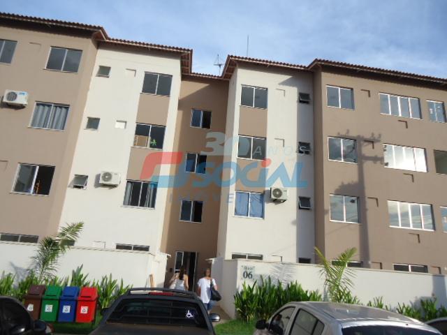 Total Ville II - Apto 201 Bloco 7 - Apartamento  residencial para locação, Aeroclube, Porto Velho.