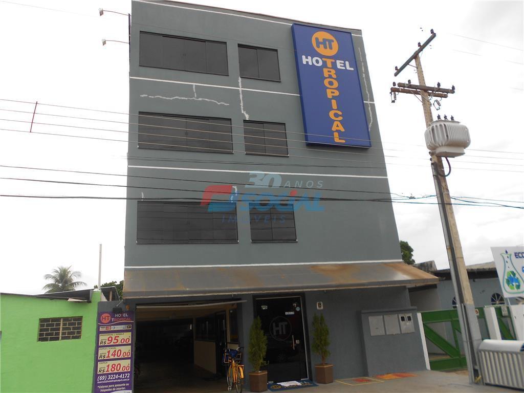 Hotel comercial à venda, São Cristóvão, Porto Velho.
