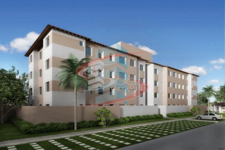 Residencial Total Ville I, Apto 202 Bloco 11, para locação, Aeroclube, Porto Velho.