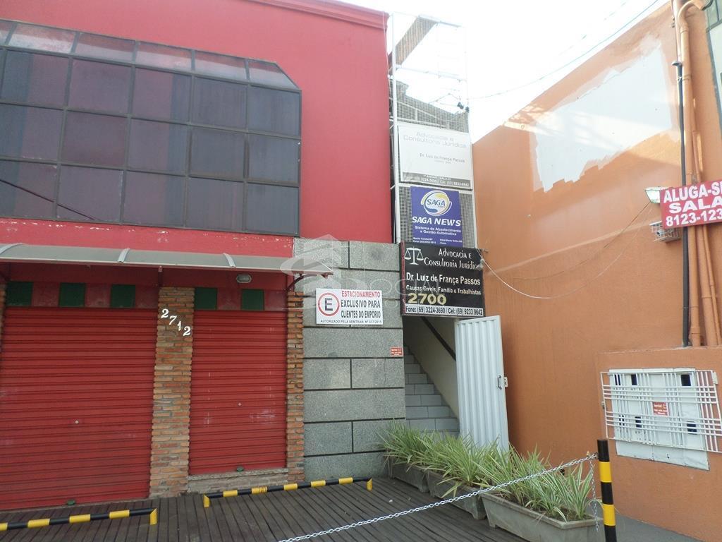 Sala Comercial, Rua Tenreiro Aranha, 2712, Sala 02, para locação, Centro, Porto Velho. (E9)