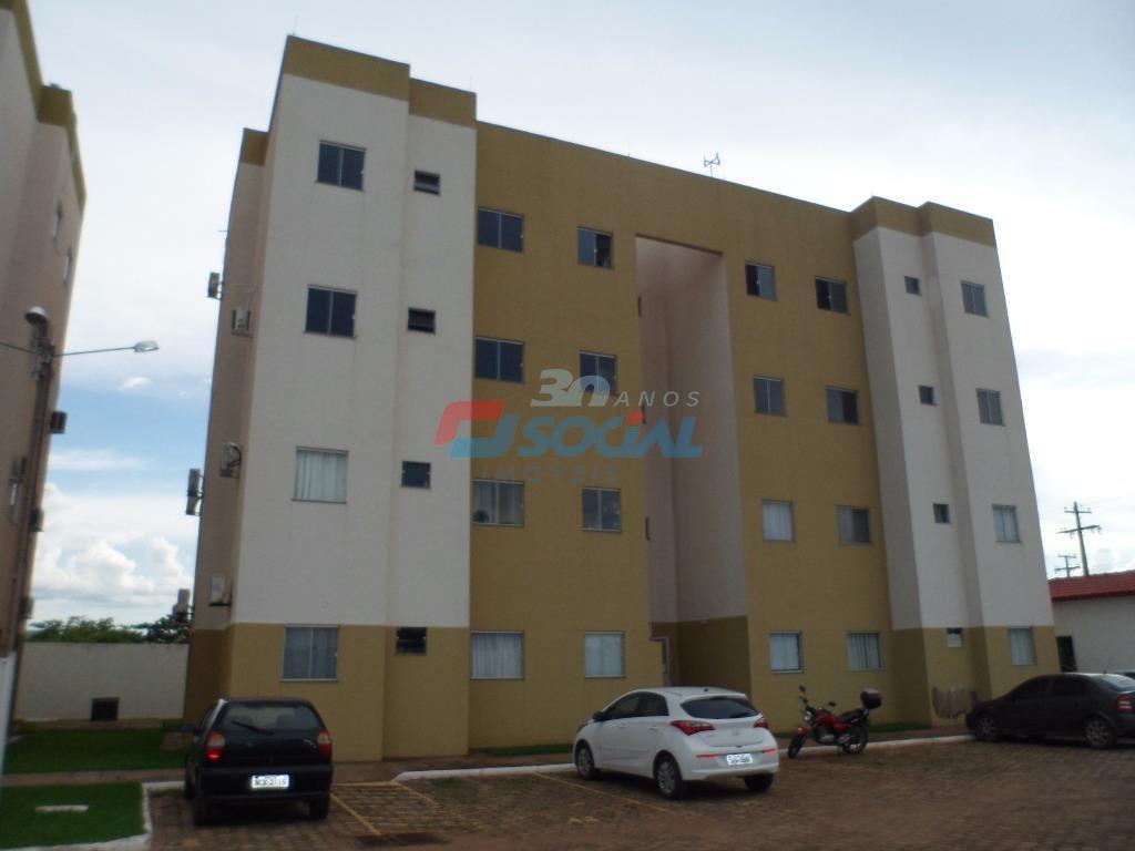 Apartamento  residencial para locação, Cond. Jatobá - 1º Andar - Novo Horizonte, Porto Velho.