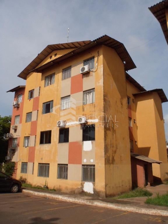Apartamento  residencial para locação, Av. Jatuarana, nº 5695 - Cond. Res. Rio Bonito - Floresta, Porto Velho.