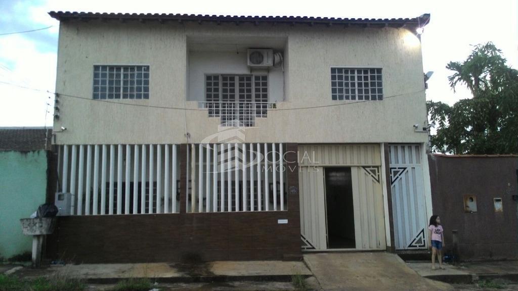 Sobrado residencial à venda, Flodoaldo Pontes Pinto, Porto Velho.