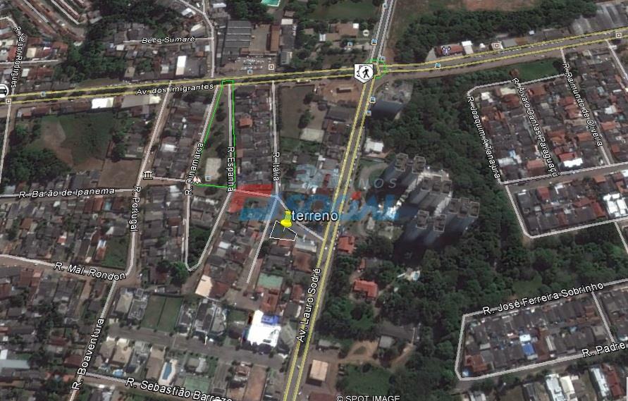 Terreno à venda, área central de Porto Velho.