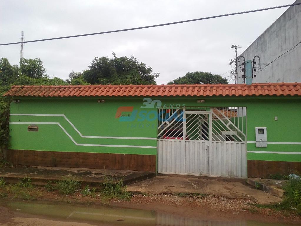 Casa residencial à venda, Floresta, Porto Velho.