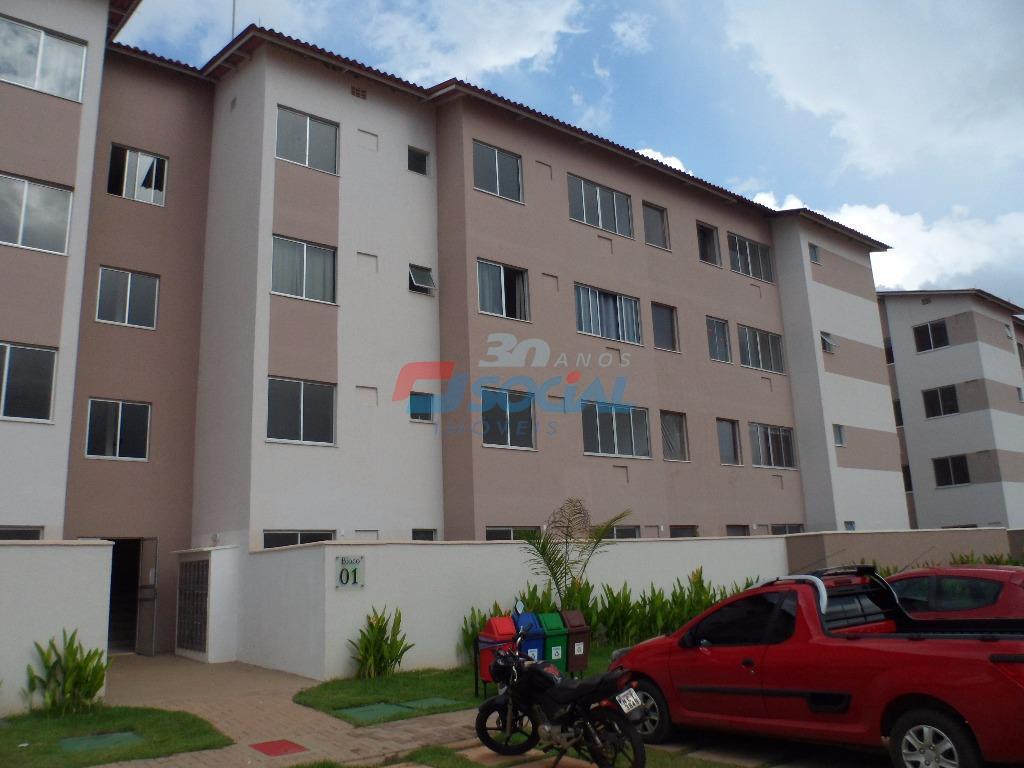 Apartamento  residencial para locação, Res. Total Ville I - Aptº 308 - Bloco 09 - Aeroclube, Porto Velho.