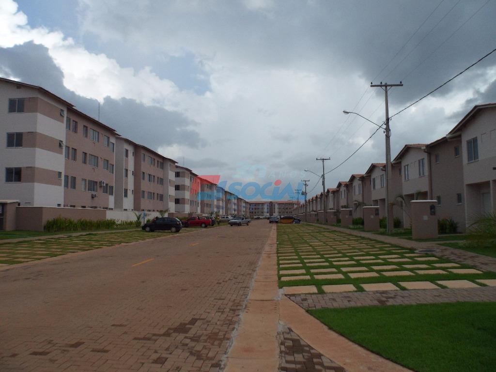 Apartamento  residencial para locação, Res. Total Ville I - Aptº 101 - Bloco 02 - Aeroclube, Porto Velho.