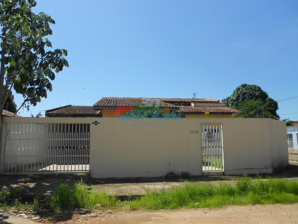 Casa residencial para venda e locação, Rua Salsa, 3045 - Cohab, Porto Velho - CA0547.