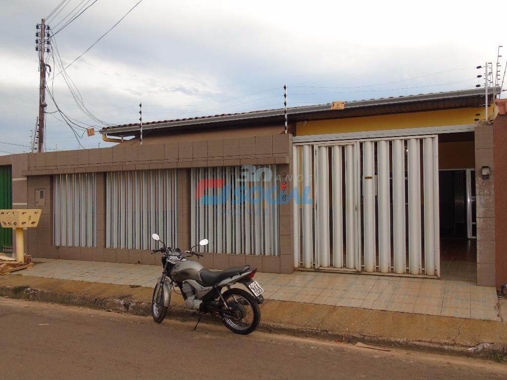 Casa  residencial à venda e Locação, Rua Clara Nunes, 5876 - Aponiã, Porto Velho.