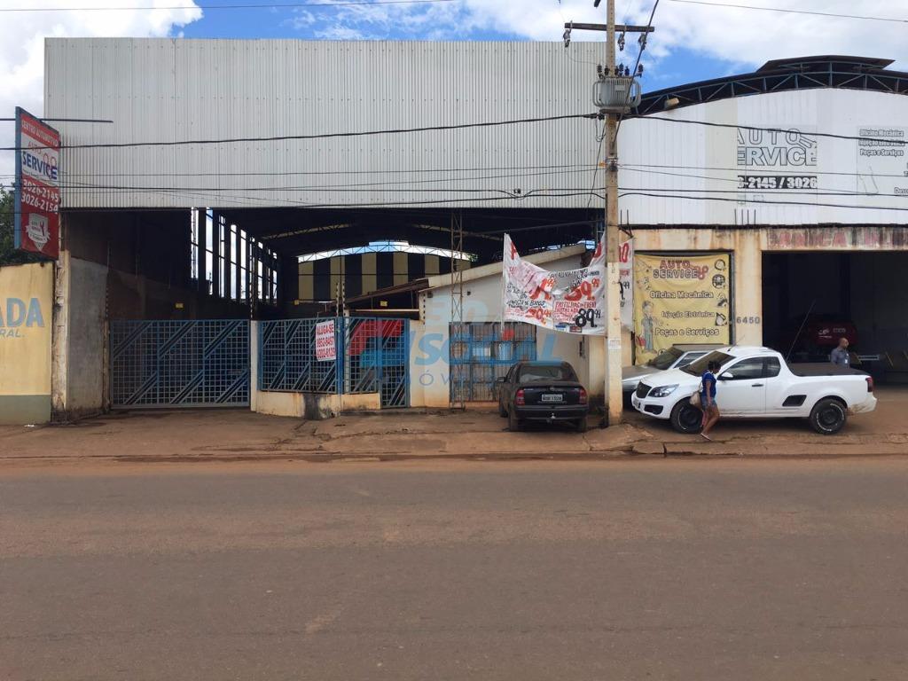 Galpão  comercial para locação de frente para Av. Jatuarana, 6450 - Eldorado, Porto Velho.