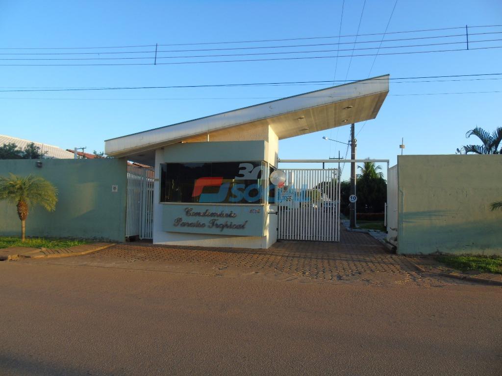 Casa  residencial para locação no Cond. Paraíso Tropical, Rua Juventude, n.º 4576 - casa 10 - Bairro Areal da Floresta