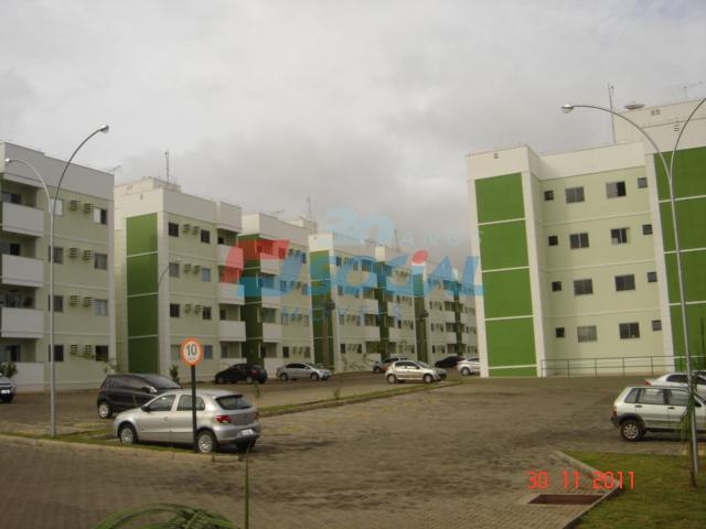 Apartamento  Para Locação - Vilas do Rio Madeira I - Est. do Santo Antônio, 3903 - Aptº 101 - Baixa da União, Porto Velho.