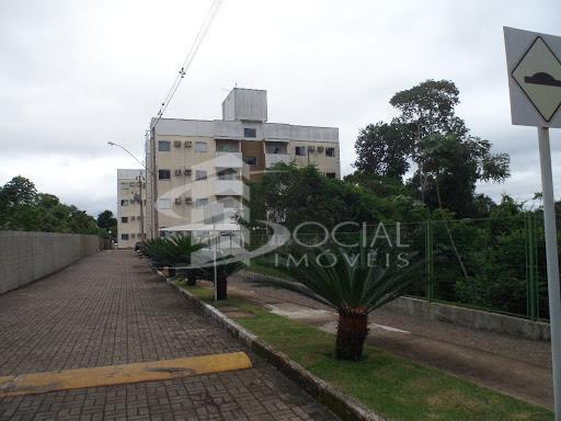 Apartamento  residencial para locação, Estrada do Santo Antônio - 4037 - cond. Vilas do Rio Madeira II - Baixa da União