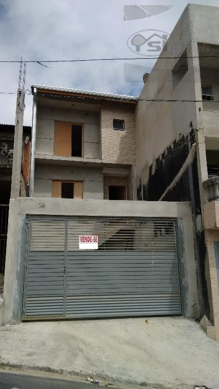 Sobrado  residencial à venda, Jardim Marcelino, Caieiras.