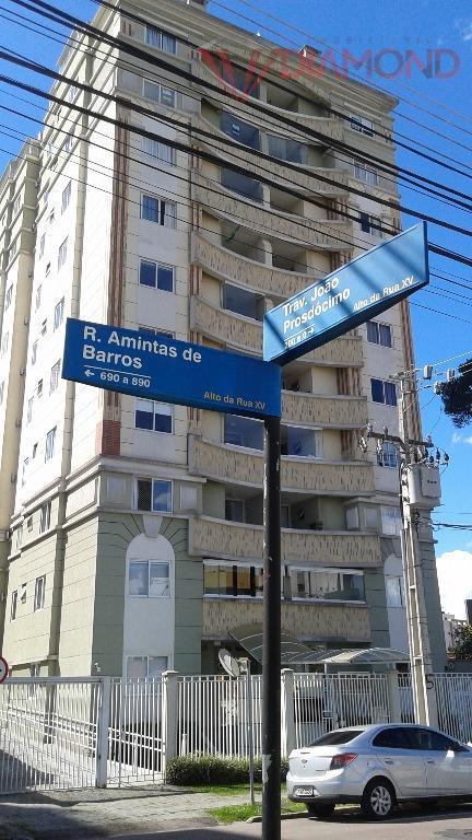 Apartamento  residencial à venda, Alto da Rua XV, Curitiba.