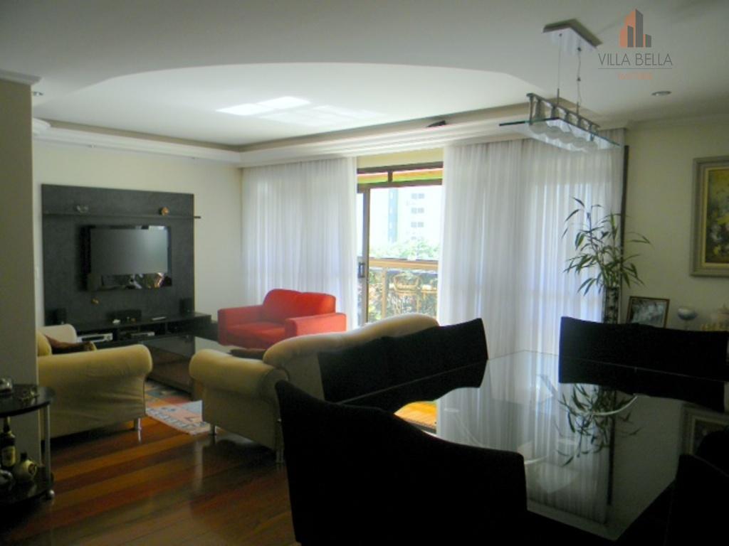 Apartamento residencial à venda, Vila Boa Vista, Santo André - AP0385.