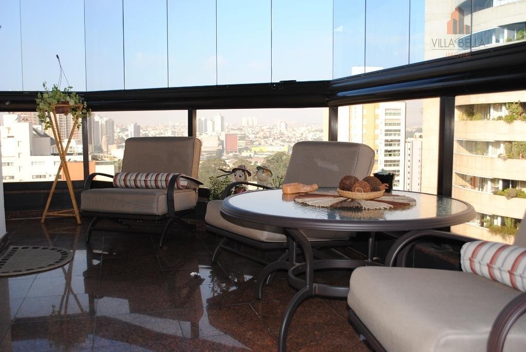 Apartamento residencial à venda, Bairro Jardim, Santo André - AP0578.