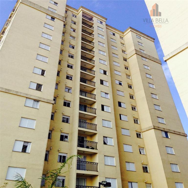 Apartamento residencial à venda, Vila Assunção, Santo André - AP0664.