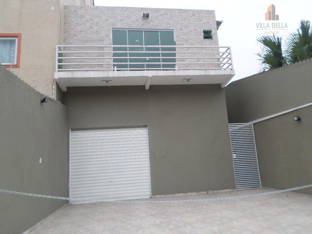 Salão comercial para venda e locação, Vila Pires, Santo André - SL0096.