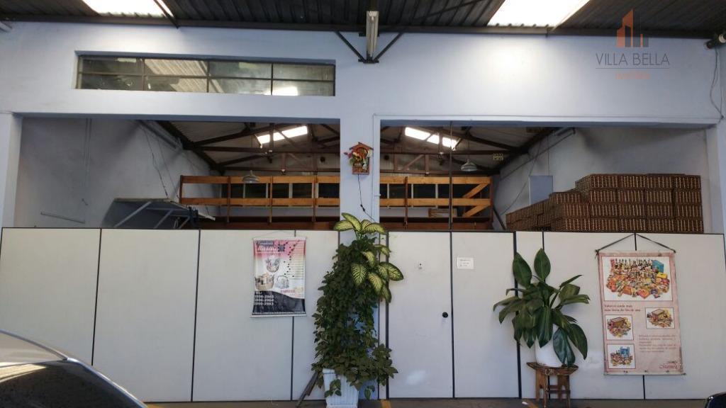 Galpão  comercial para locação, Rudge Ramos, São Bernardo do Campo.