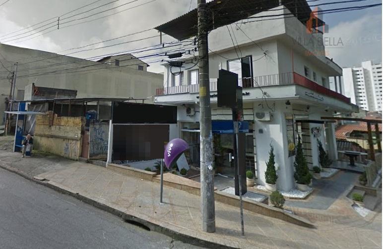 Sobrado comercial à venda, Bairro Jardim, Santo André - SO0777.