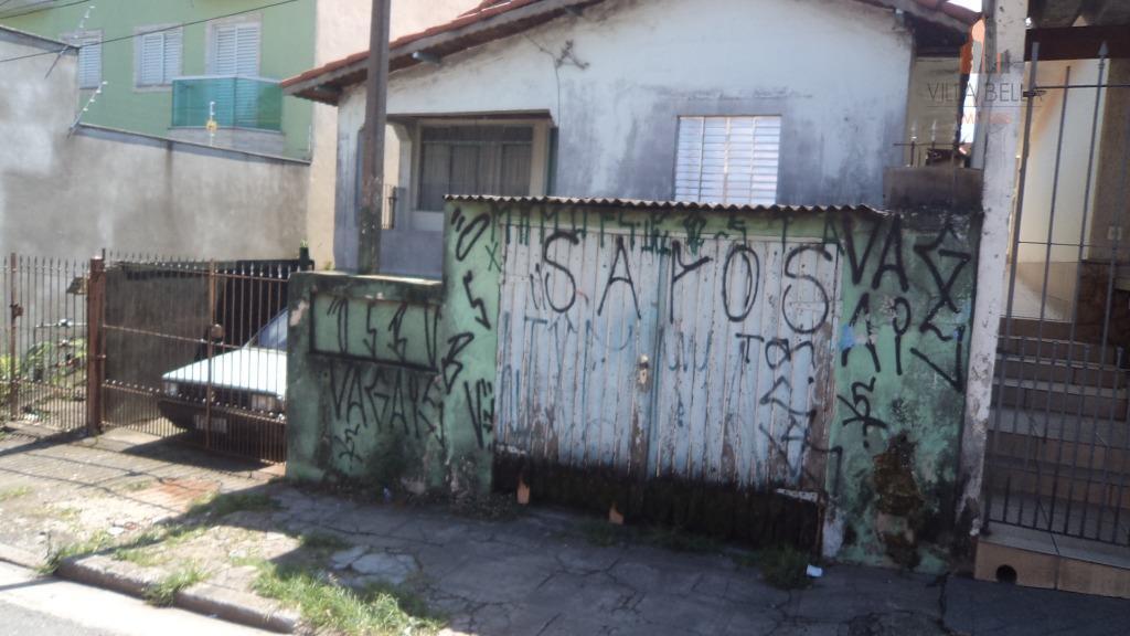 Terreno residencial à venda, Vila Guarani, Santo André.