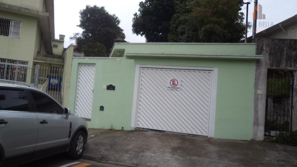 casa térrea em localização tranquila e privilegiadíssima do bairro jardim! !!!2 dormitórios, 2 wcs., sala de...