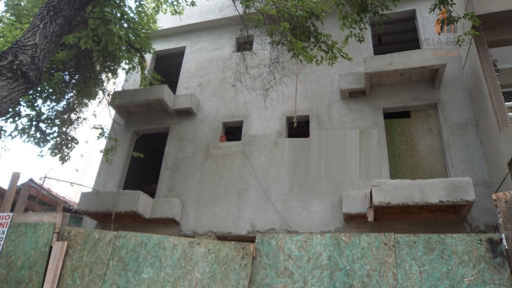Apartamento residencial à venda, Vila Guiomar, Santo André - AP3123.