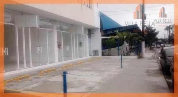 Salão comercial para locação, Vila Pires, Santo André.
