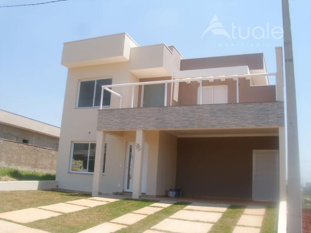 Casa residencial à venda, Residencial Real Park, Sumaré - CA0388.