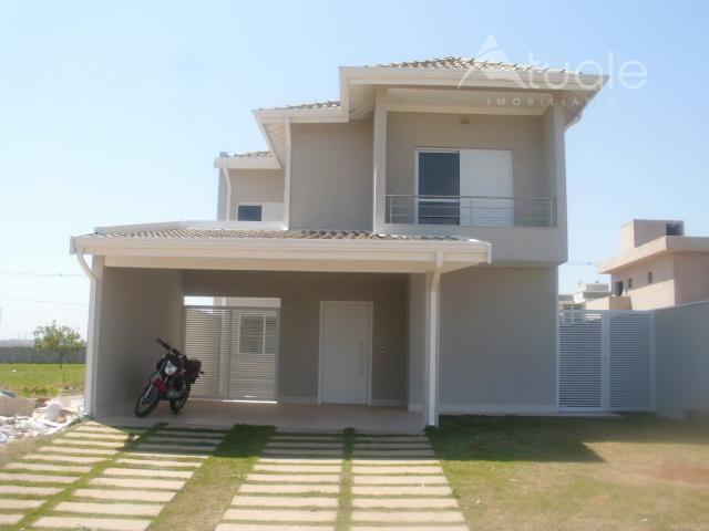 Casa residencial à venda, Residencial Real Parque Sumaré, Sumaré - CA0439.