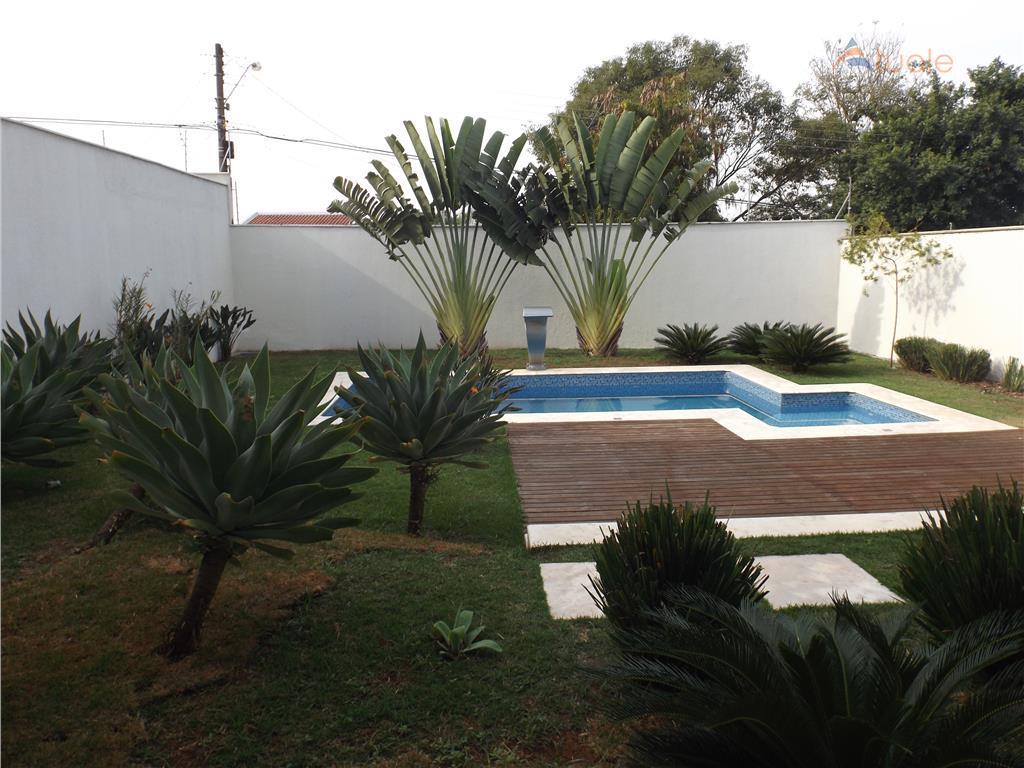 Casa de 4 dormitórios em Vila Santa Maria, Americana - SP