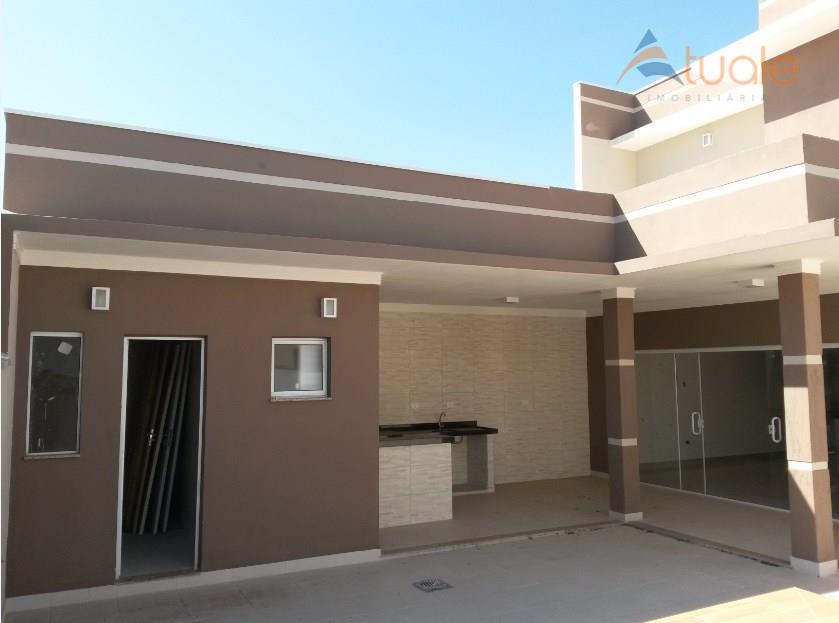 Casa de 3 dormitórios à venda em Condomínio Jardim De Mônaco, Hortolândia - SP