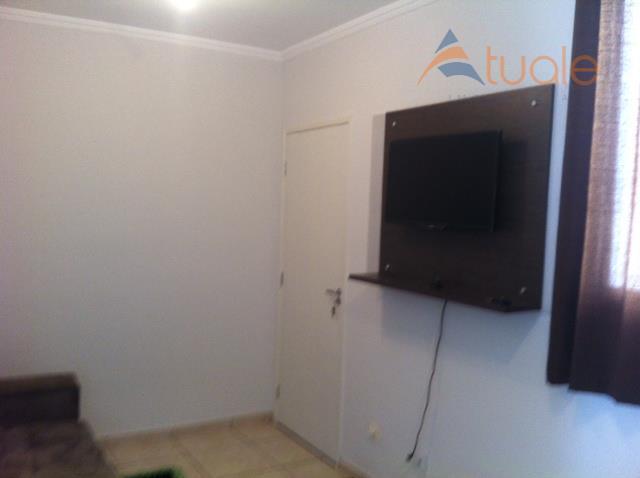 Apartamento de 2 dormitórios à venda em Conserva, Americana - SP