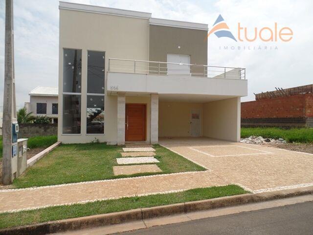 Casa residencial à venda, Residencial Real Park, Sumaré.