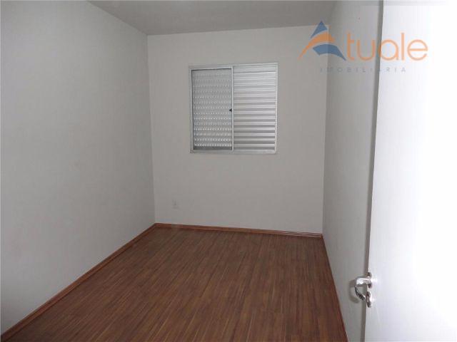 Apartamento de 2 dormitórios à venda em Chácara Letônia, Americana - SP