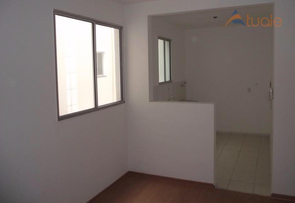 Apartamento de 2 dormitórios à venda em Loteamento Industrial Machadinho, Americana - SP