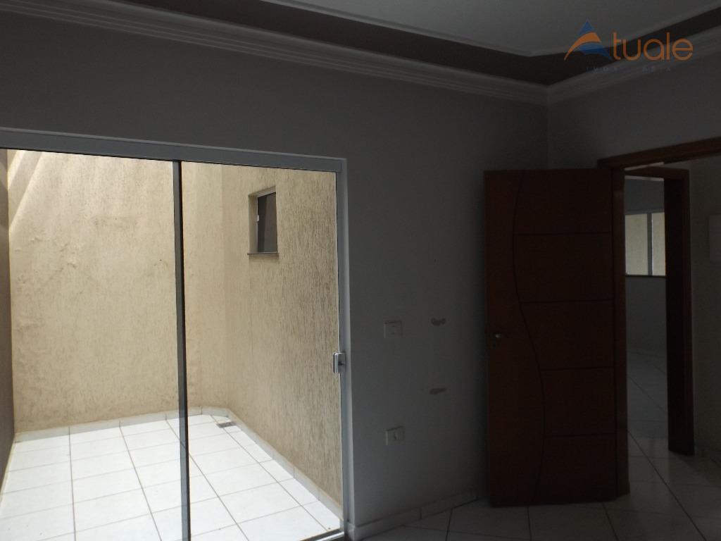 Casa de 3 dormitórios à venda em Jardim Primavera, Americana - SP