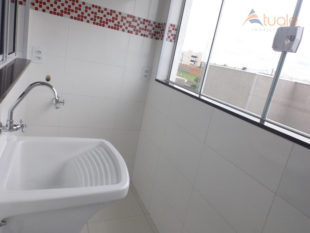 Apartamento de 2 dormitórios à venda em Jardim Terramérica Iii, Americana - SP