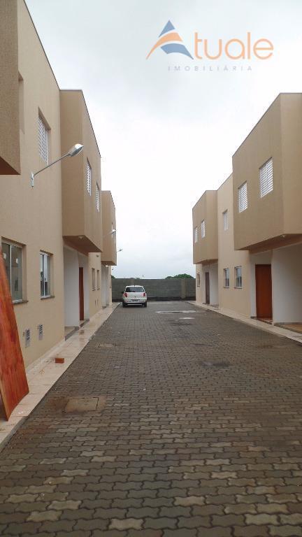 Casa de 2 dormitórios em Chácara Bela Vista, Sumaré - SP